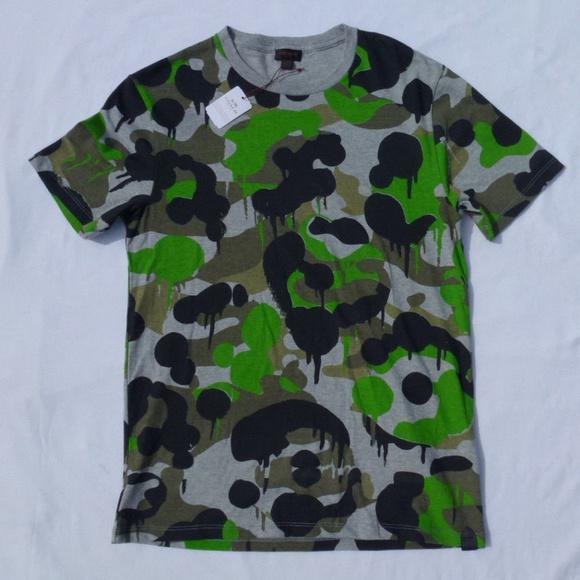 COACH New York Mens T-shirt Millitary Size Small 24e71111eb9